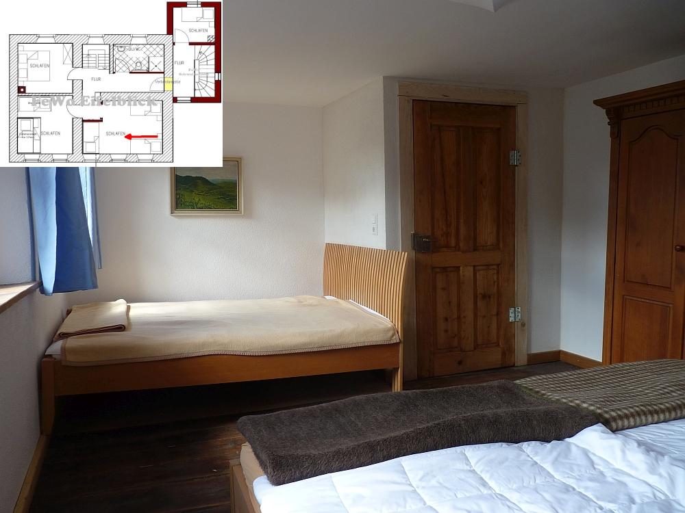ferienhaus eifel landhaus enztal schlafzimmer. Black Bedroom Furniture Sets. Home Design Ideas