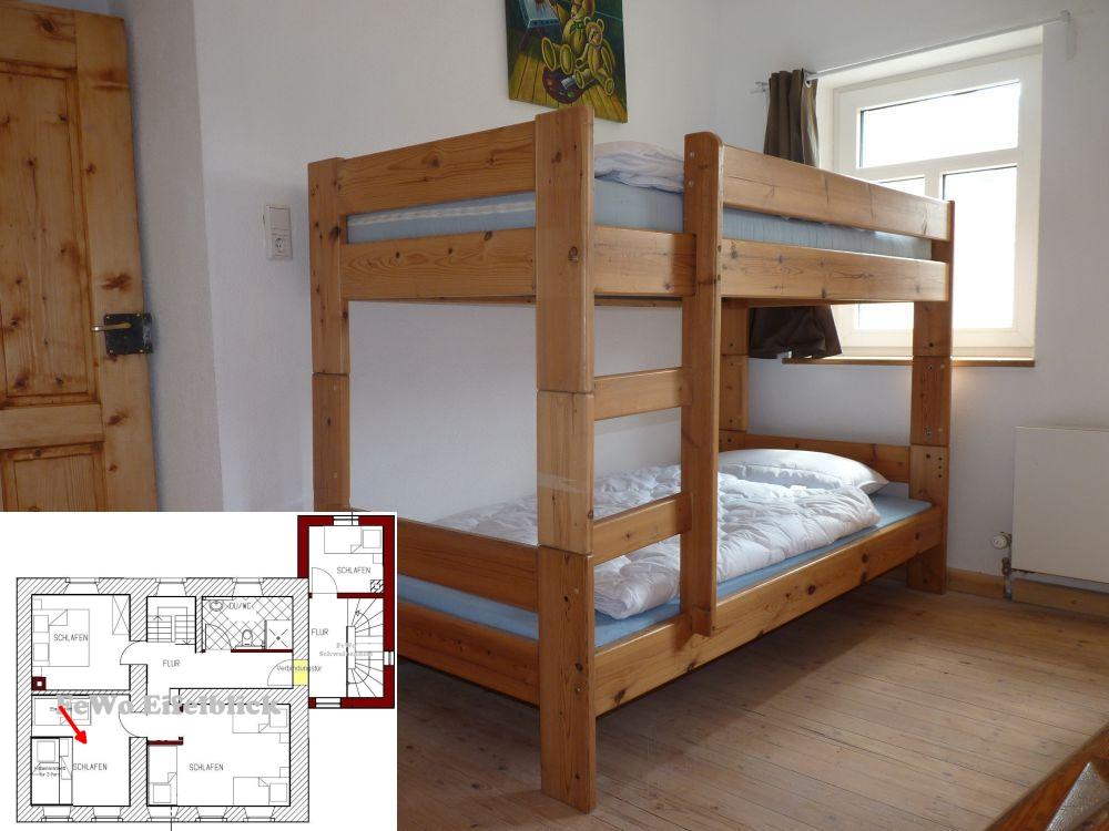 Ferienhaus Eifel Landhaus Enztal Schlafzimmer